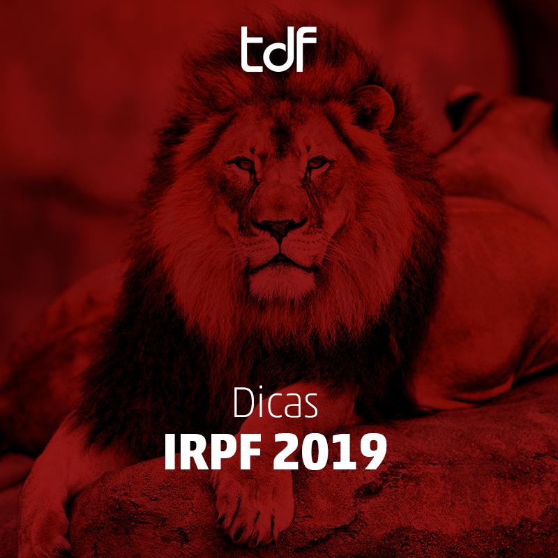 dicas IRPF 2019