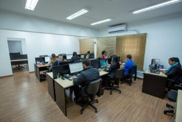 novo escritório da TDF