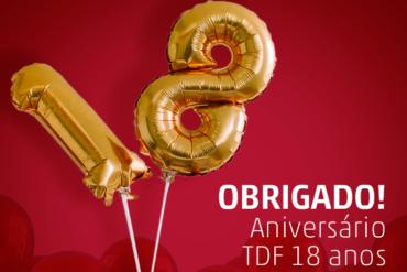 TDF 18 anos